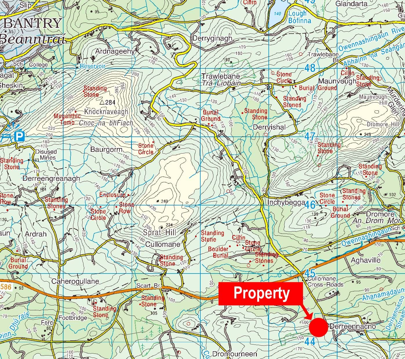 location-map-marked