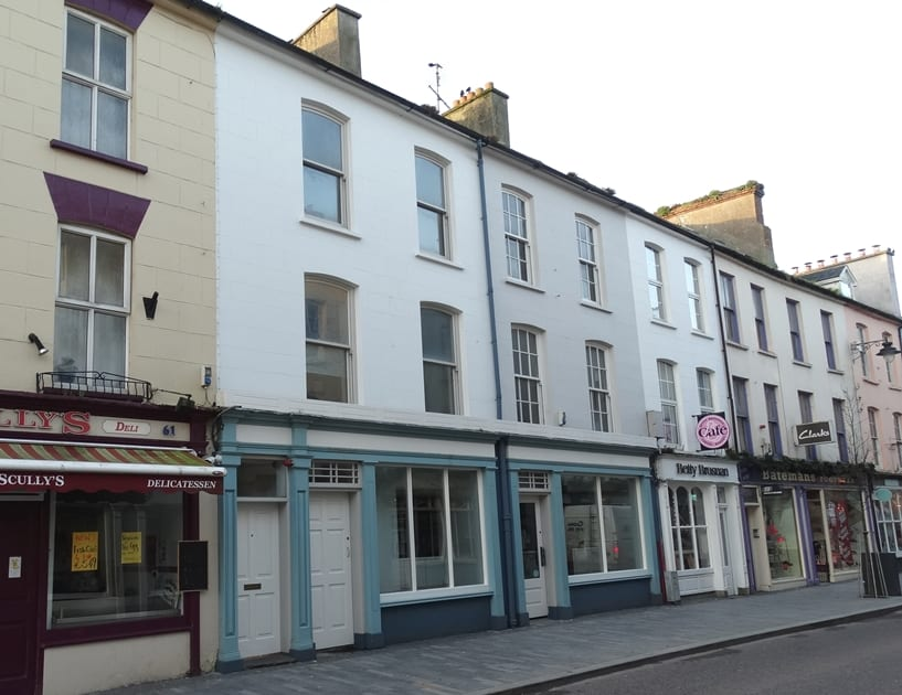 Pearse Street Front of Property - SML