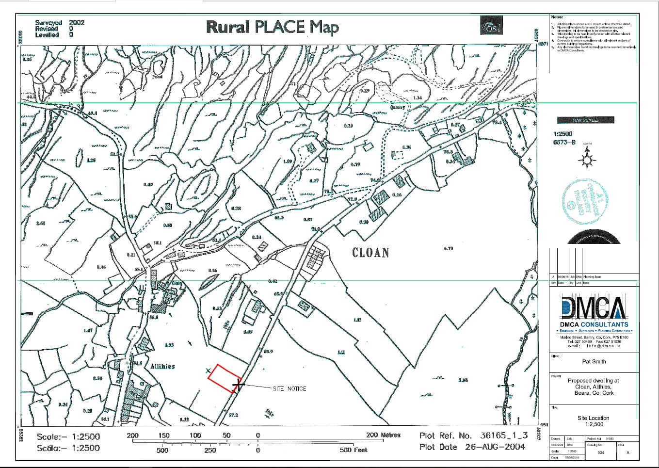 Rural Place Map
