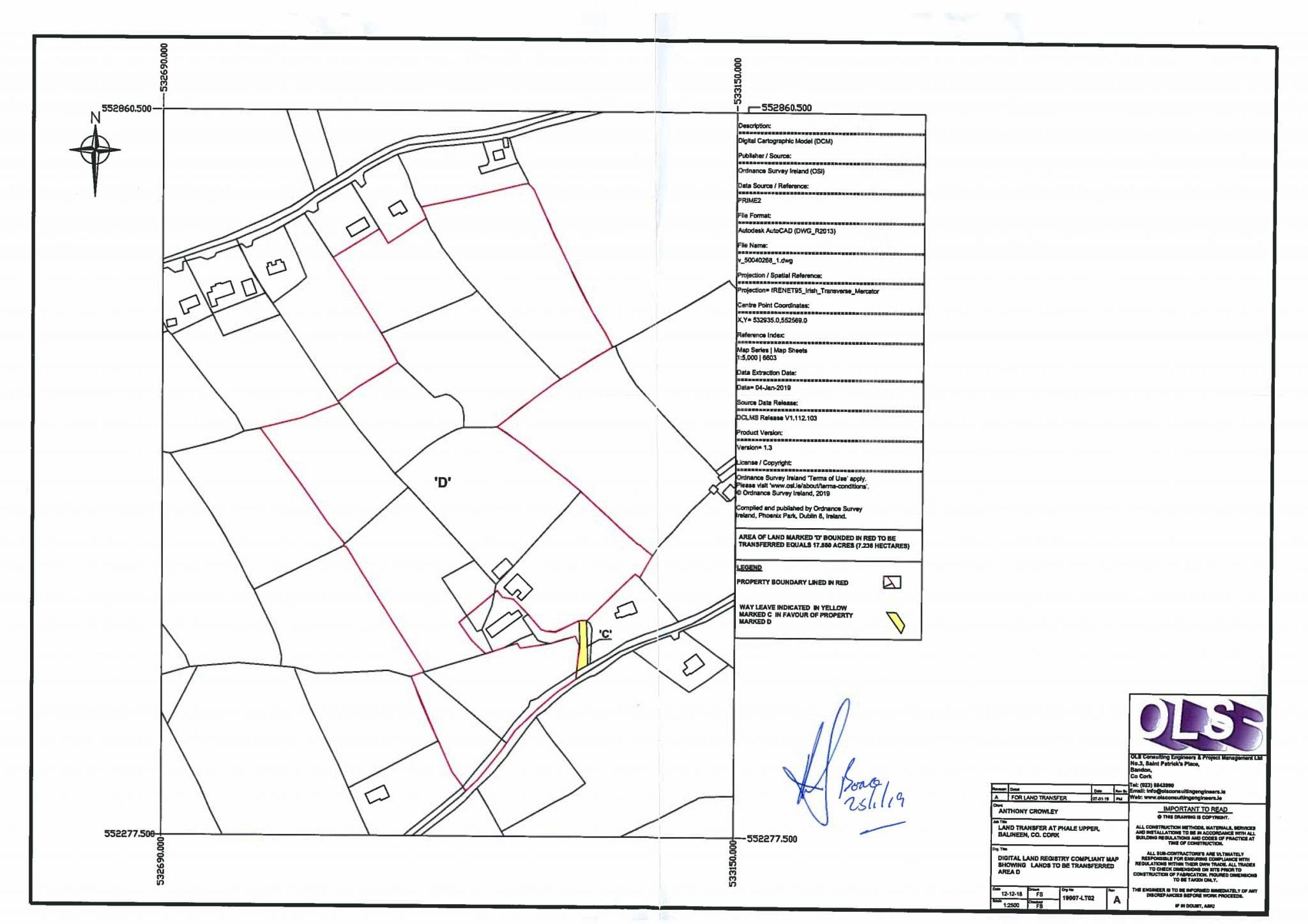 Boundary map, Phale