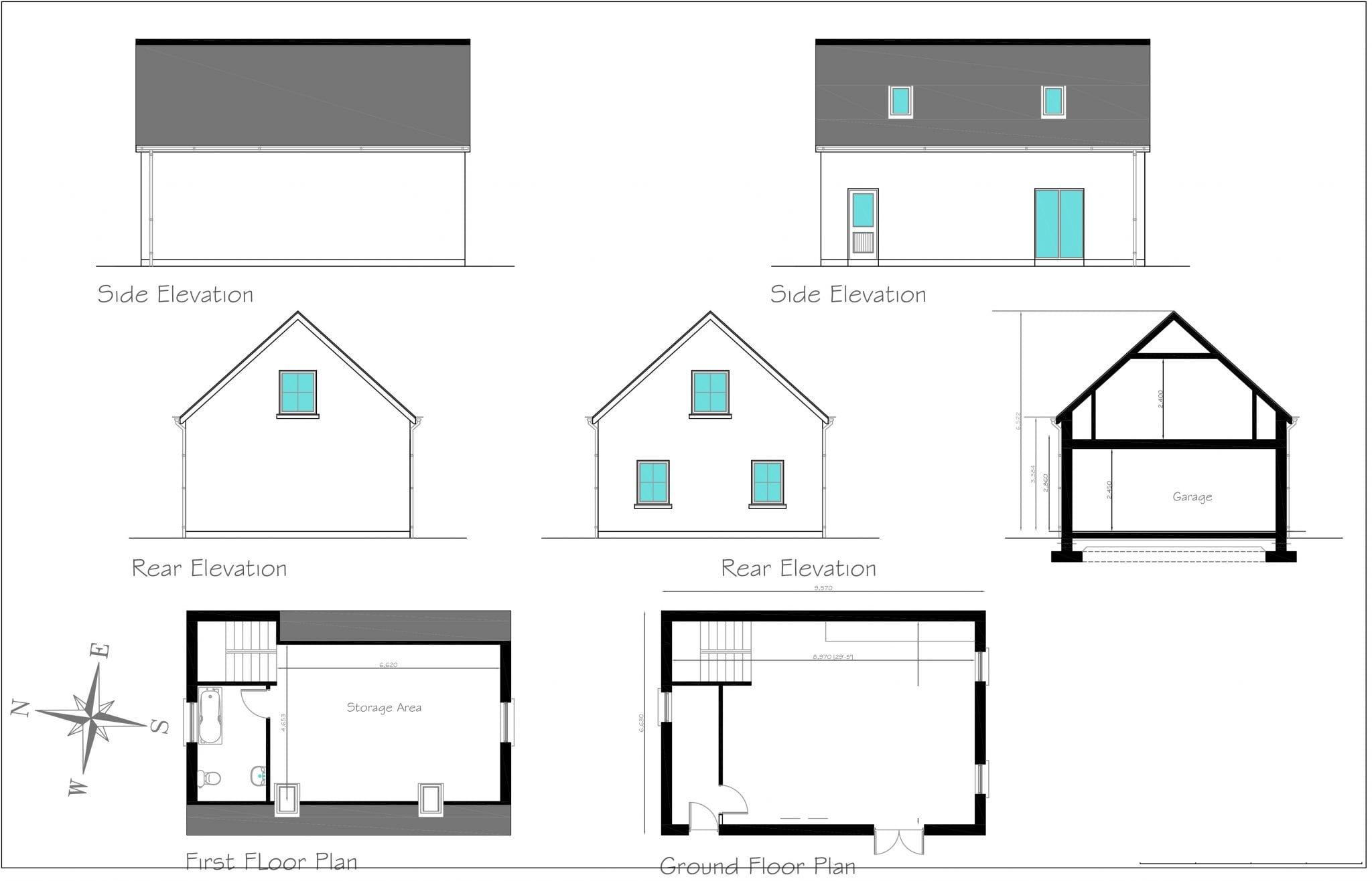 1766 - Garage as Dwelling