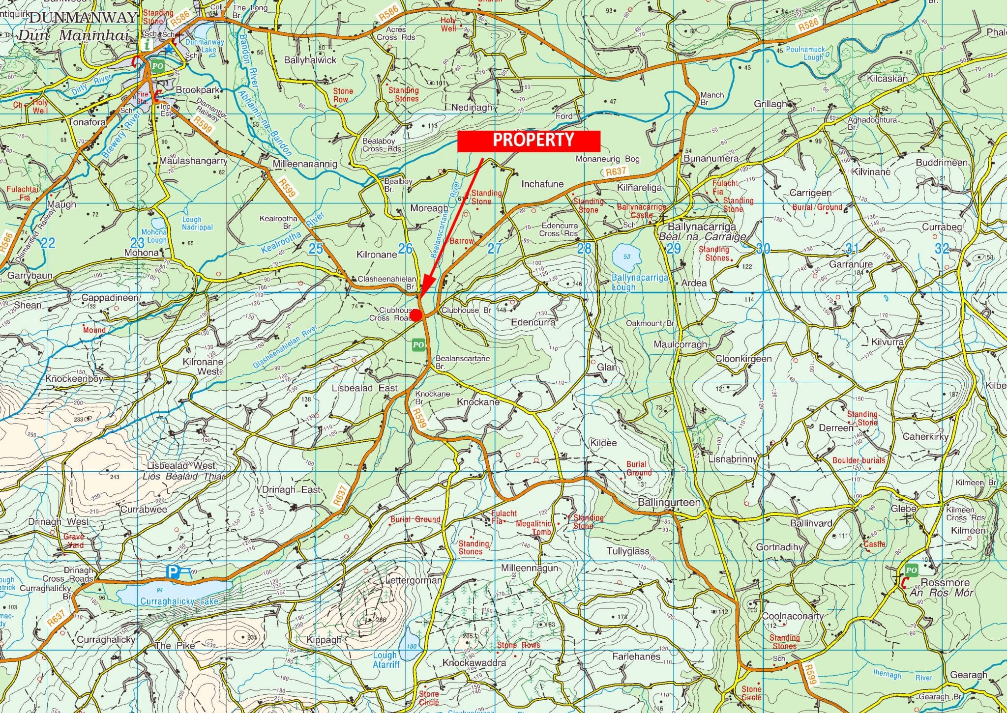 OS1204 LOCATION MAP