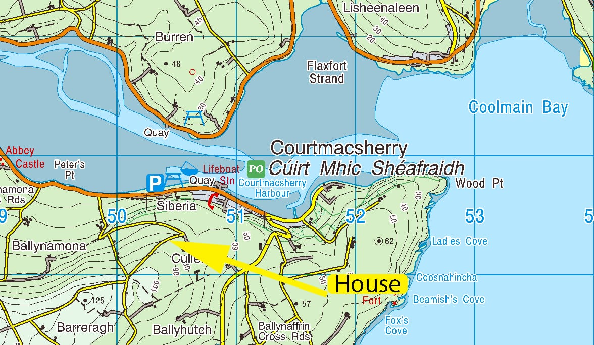 OS1404 Location Map