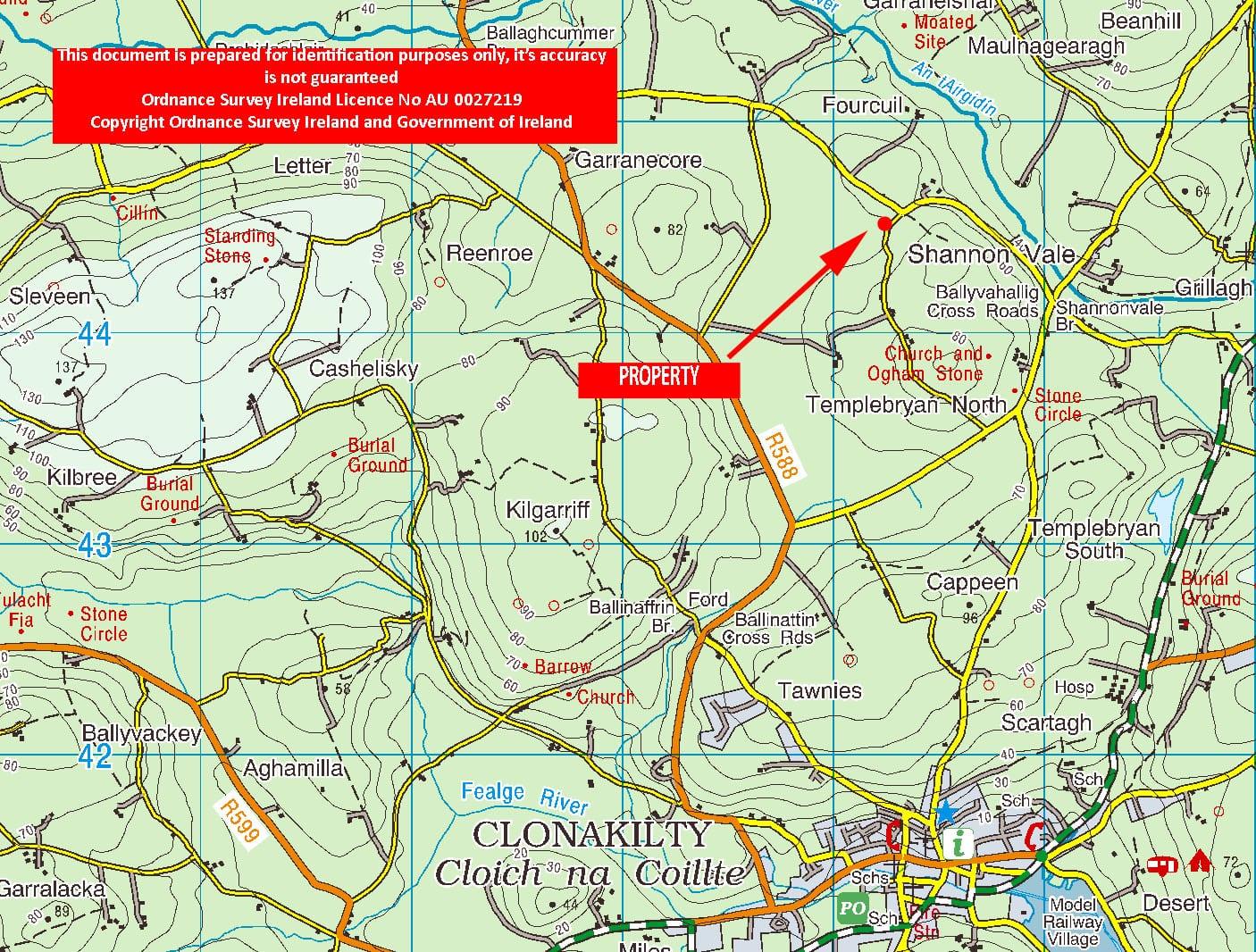 Location map OS1204
