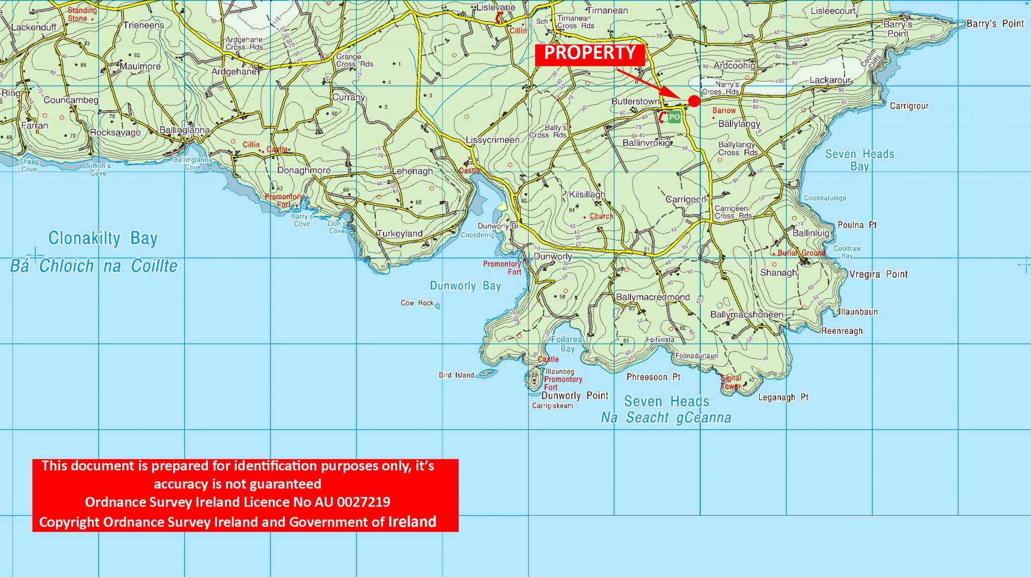 Locaton Map OS1402