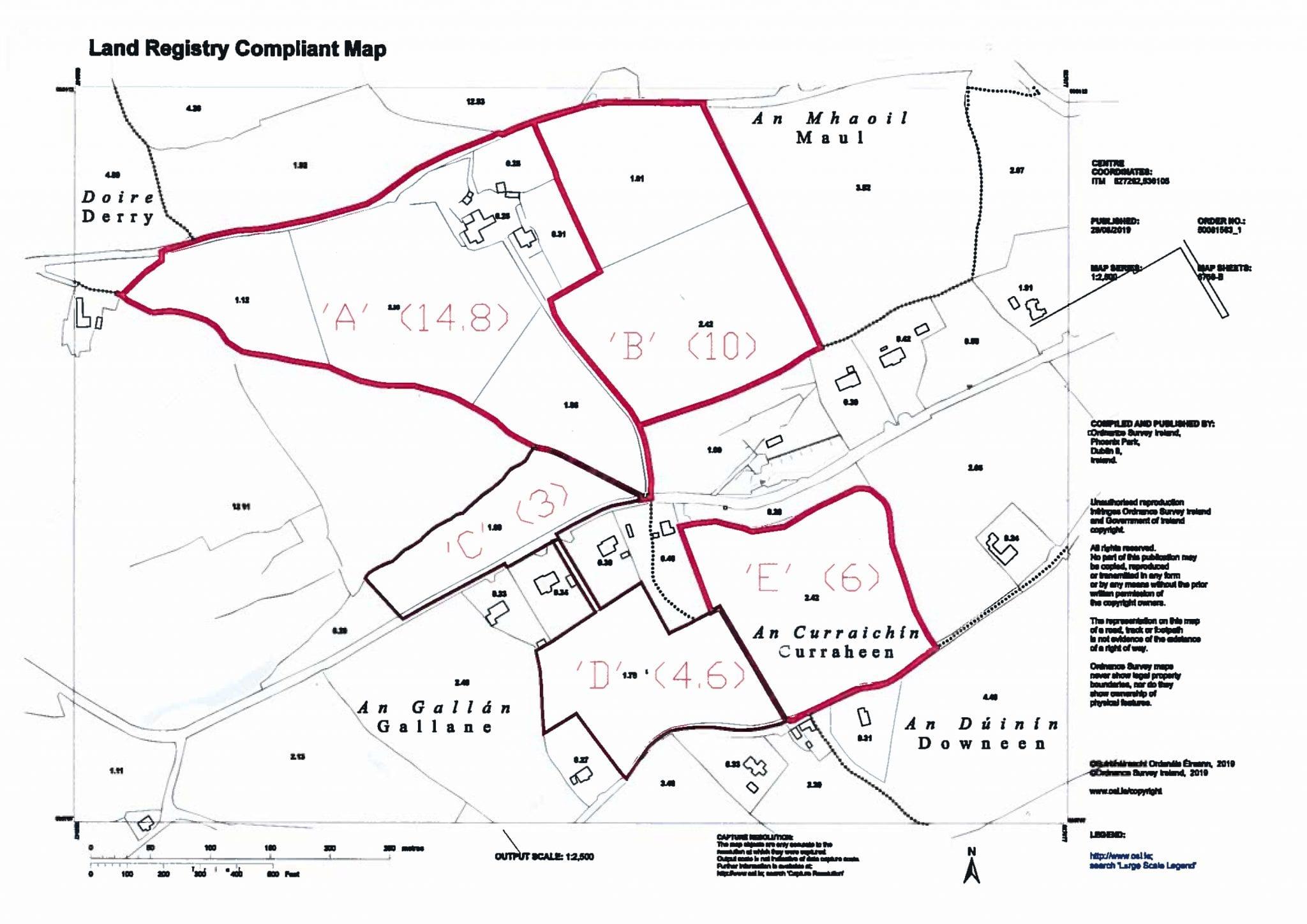 Land Registry Map