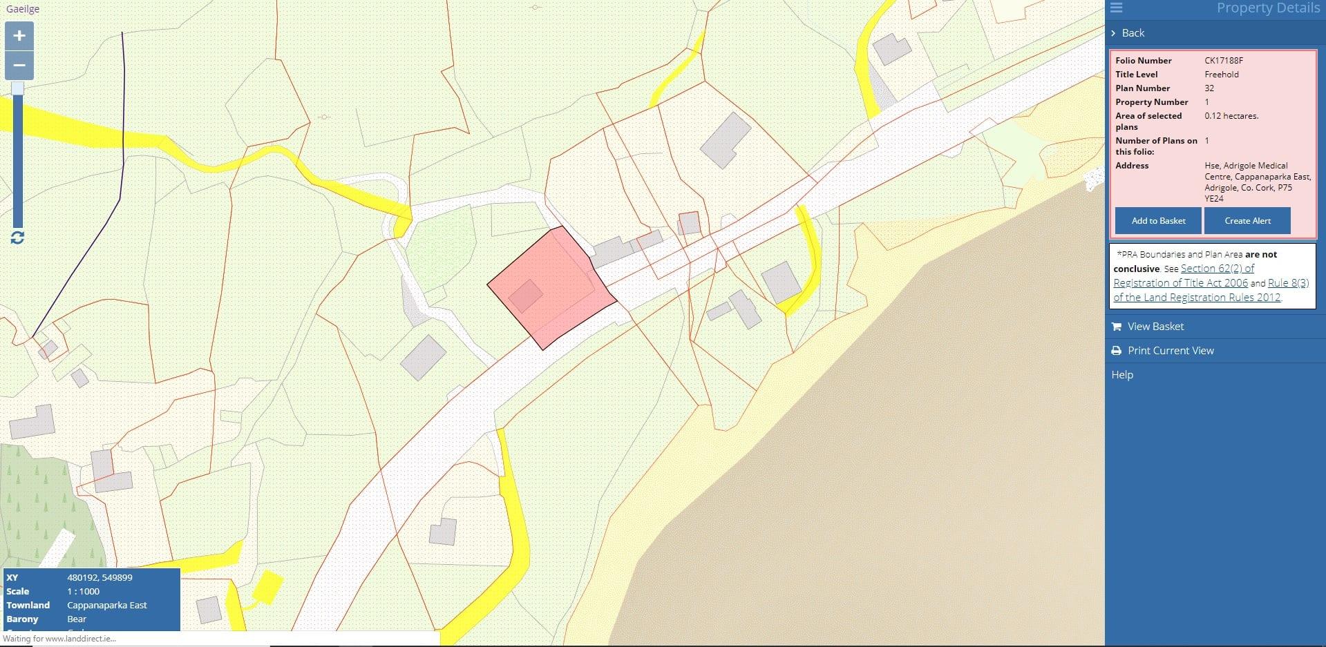 Folio Map