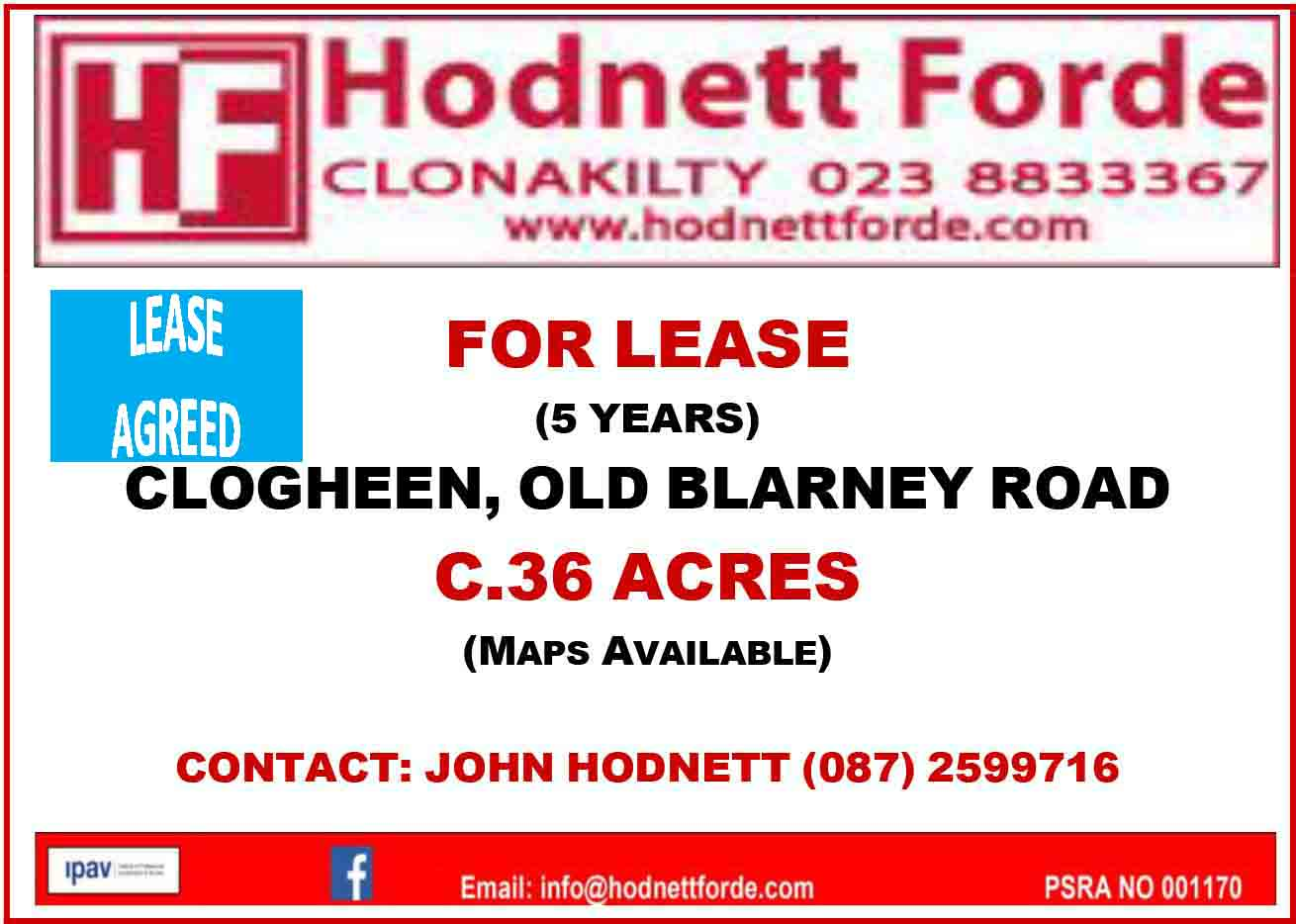 6. Clogheen, Old Blarney Road