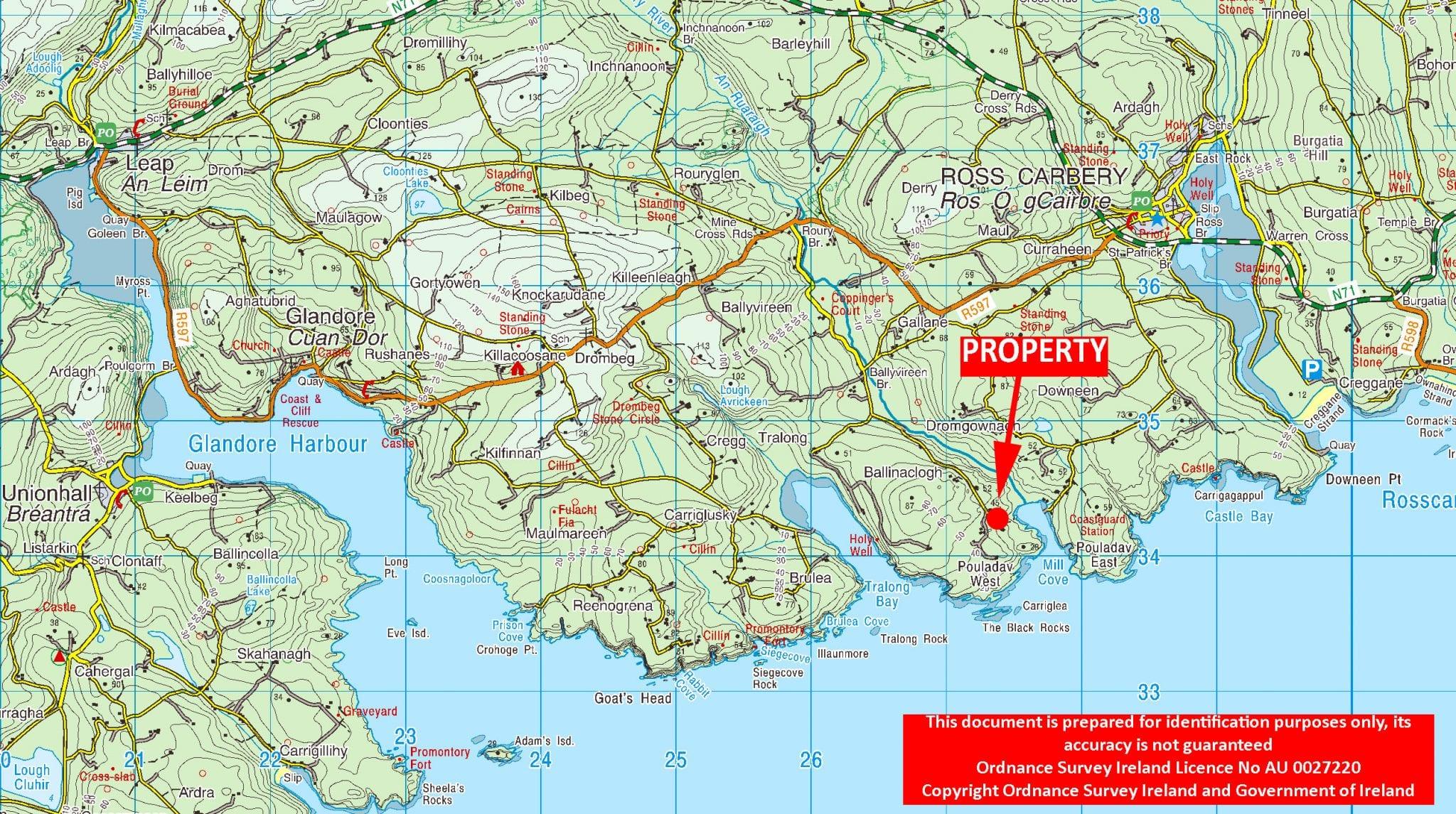 OS1202 LOCATION MAP