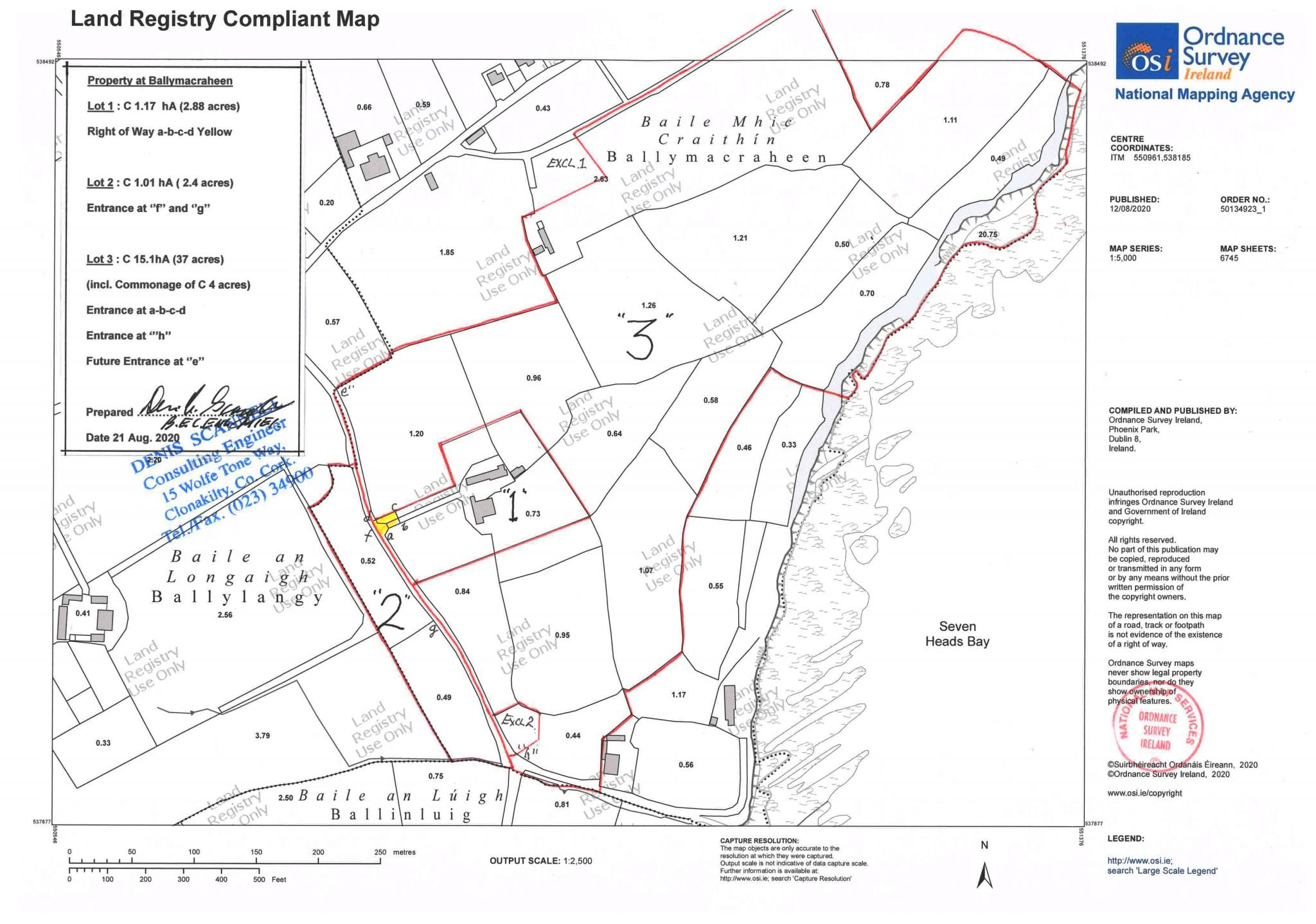 Engineer's map
