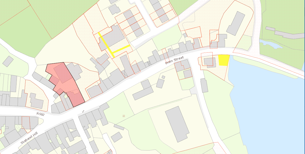 Site MapThe Old Stores, Main Street, Ballydehob