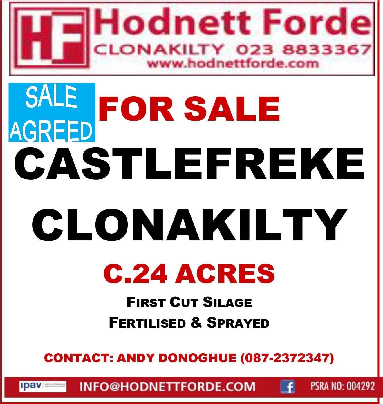 19. Castlefreke, Clonakilty