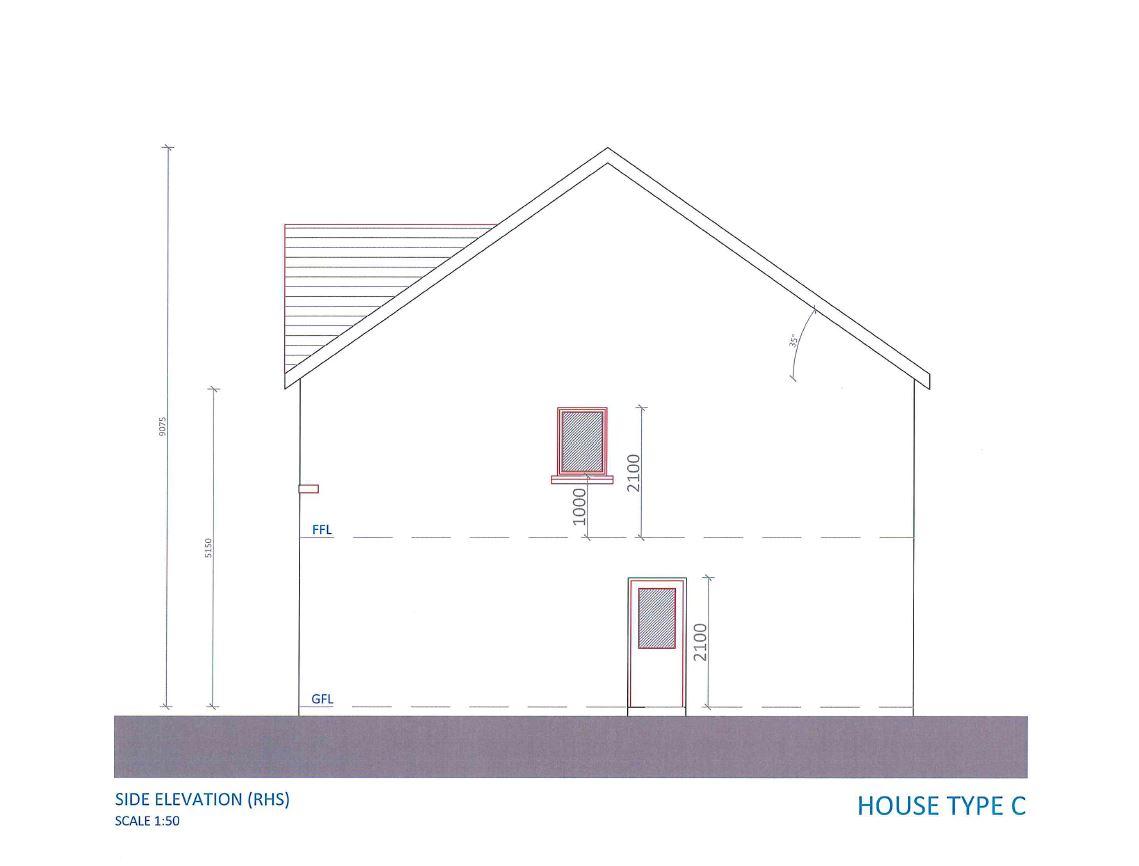 Side elevation 2